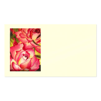 Hannah Gordon Rose business cards by Sacha Grossel