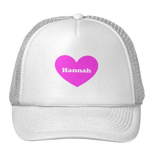 Hannah Gorras De Camionero
