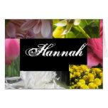 Hannah Greeting Cards