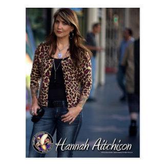 Hannah in Hollywood Postcard - Hannah Aitchison