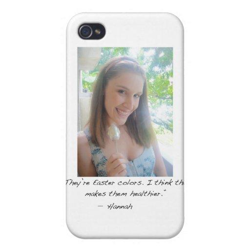 Hannah  iPhone 4/4S Case