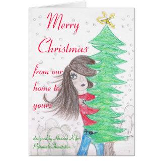 Hannah K Christmas Card