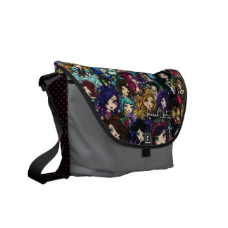 Hannah Lynn Fantasy Art  Fairy Mermaid Art Bag Courier Bag