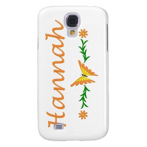 Hannah (mariposa anaranjada)