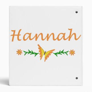 """Hannah (mariposa anaranjada) carpeta 1"""""""