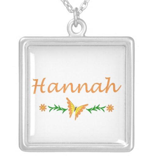 Hannah (mariposa anaranjada) grimpola personalizada