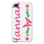 Hannah (mariposa rosada) iPhone 4 coberturas