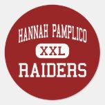 Hannah Pamplico - asaltantes entrenados para la lu Pegatina Redonda