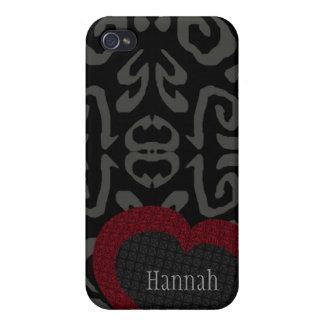 HANNAH personalizó la caja de Iphone 4 del modelo  iPhone 4 Fundas