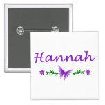 Hannah (Purple Butterfly) Pin