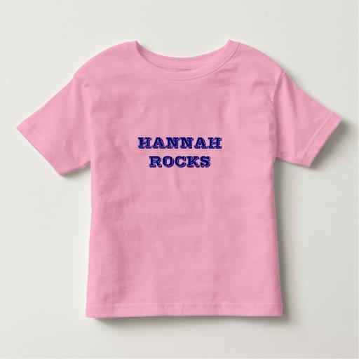 HANNAH ROCKS IS A MONTANA KIDS T SHIRT