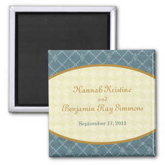 Hannah Save the Date Magnet