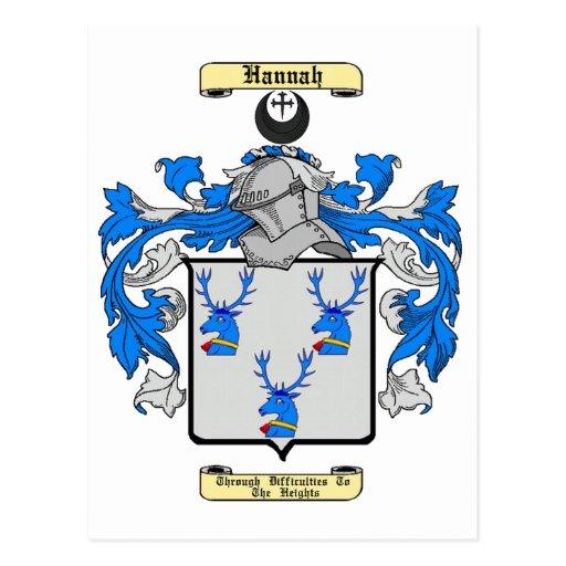 Hannah (Scottish) Post Card