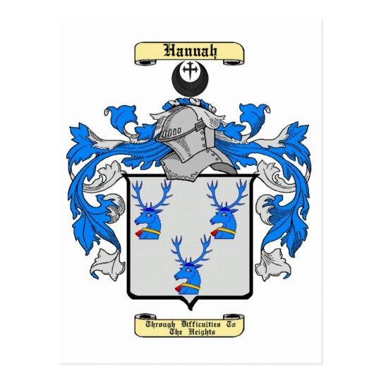 Hannah (Scottish) Postcard