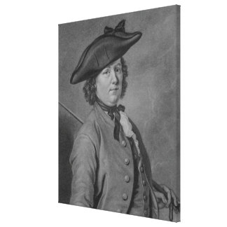 Hannah Snell, the Female Soldier Canvas Print