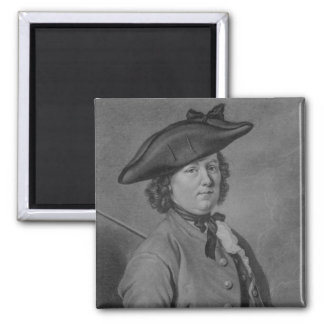 Hannah Snell, the Female Soldier 2 Inch Square Magnet