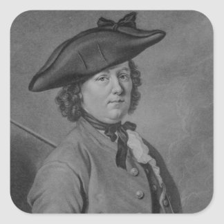 Hannah Snell, the Female Soldier Square Sticker