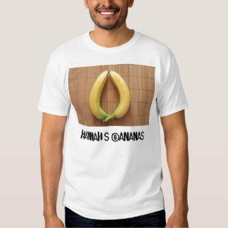 Hannah's Bananas T-shirts