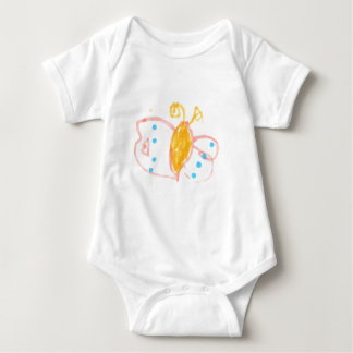 Hannah's Butterfly line of products Baby Bodysuit
