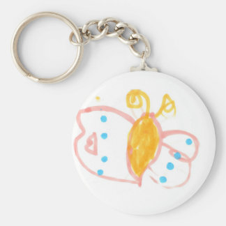 Hannah's Butterfly line of products Keychain