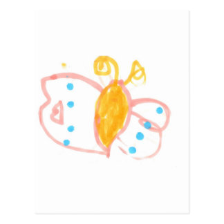 Hannah's Butterfly line of products Postcard