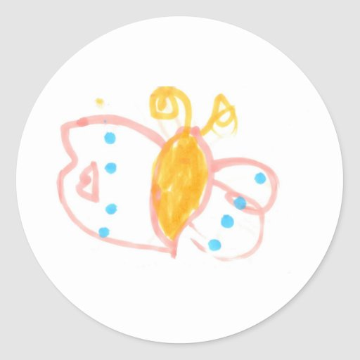 Hannah's Butterfly line of products Stickers
