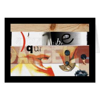 HannaH's Faux-Collage 01 - Danger Card
