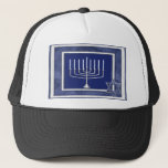 "hannakah trucker hat<br><div class=""desc"">find all your hannukkah Items have a happy hanukah with these happy hanukkah items and gifts</div>"