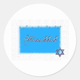 hannakka star classic round sticker