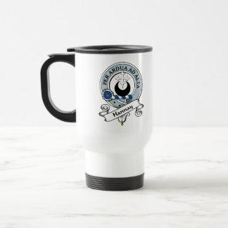 Hannay Clan Badge Travel Mug