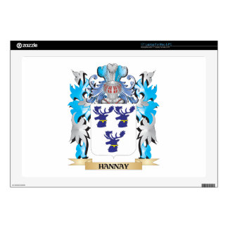 Hannay- Coat of Arms - Family Crest Skins For Laptops
