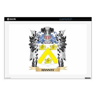 """Hannay Coat of Arms - Family Crest Skins For 17"""" Laptops"""