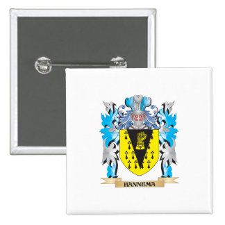 Hannema Coat of Arms - Family Crest Pins