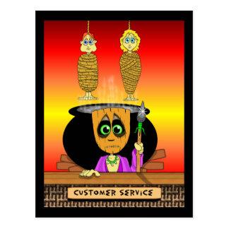 Hanni Ba Loo Customer Service Postcard