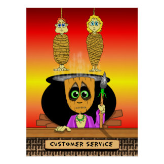 Hanni Ba Loo Customer Service Poster
