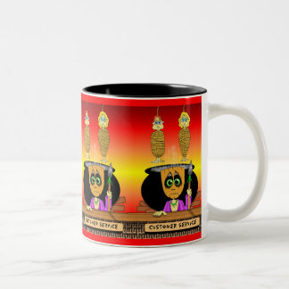 Hanni Ba Loo Customer Service Two-Tone Coffee Mug