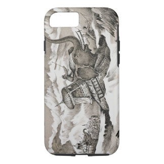 Hannibal (247-c.183 BC) and his war elephants cros iPhone 8/7 Case