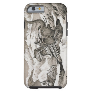 Hannibal (247-c.183 BC) and his war elephants cros Tough iPhone 6 Case