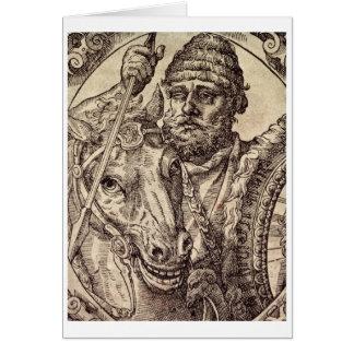 Hannibal (247-c.183 BC) (engraving) Card