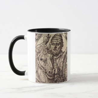 Hannibal (247-c.183 BC) (engraving) Mug