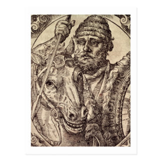Hannibal (247-c.183 BC) (engraving) Postcard
