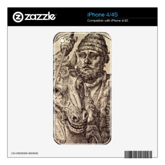 Hannibal (247-c.183 BC) (engraving) Skin For The iPhone 4