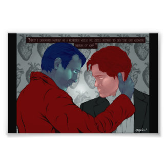 Hannibal and Will Photo Print