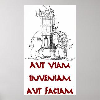 Hannibal Aut Viam Inveniam Aut Faciam Póster