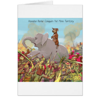 Hannibal Barker Conquers Funny Gifts Tees Mugs Etc Card