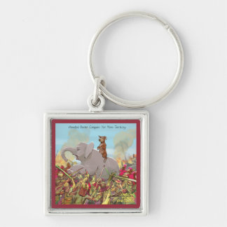 Hannibal Barker Conquers Funny Gifts Tees Mugs Etc Keychain