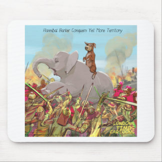 Hannibal Barker Conquers Funny Gifts Tees Mugs Etc Mouse Pad