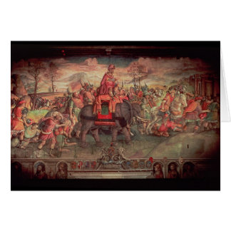 Hannibal Crossing the Alps Card