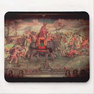 Hannibal Crossing the Alps Mouse Pad