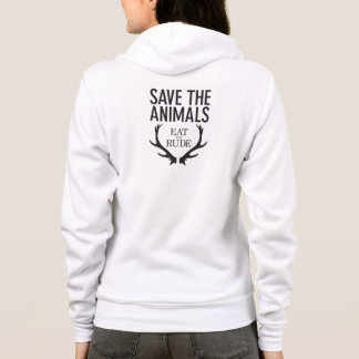 Hannibal Eat the Rude / Save the Animals Hoodie